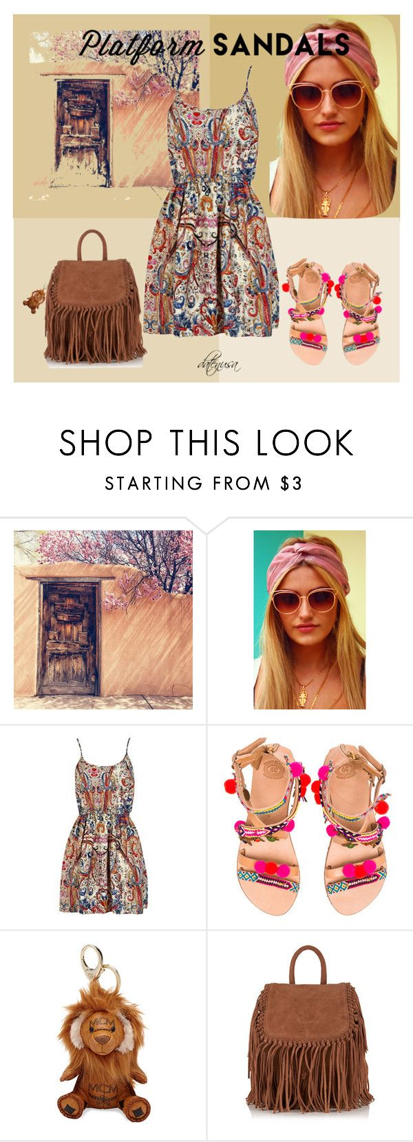 """""""Mexican Ethnic Style"""" by datenusa on Polyvore featuring Elsie & Fred, Elina Linardaki, MCM and Superdry"""
