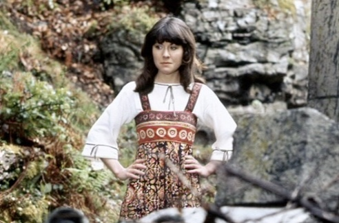 Sarah Jane Smith (Elizabeth Sladen) in Masque of Mandragora - luckily her boho chic fit right in!