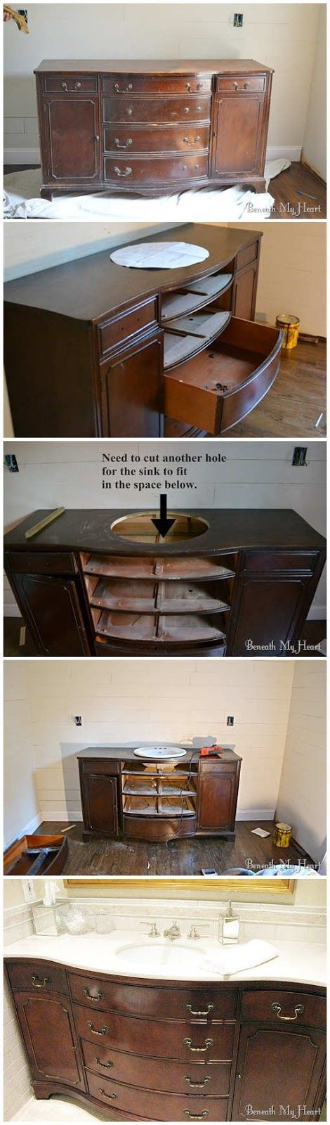 Bathroom Vanity Dresser