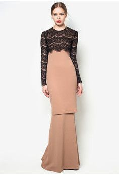 baju kurung moden lace rizalman - Google Search