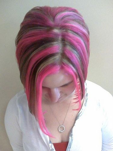 https://flic.kr/p/7ujprz | Pink streaks | Who would love to go Pink like this ?