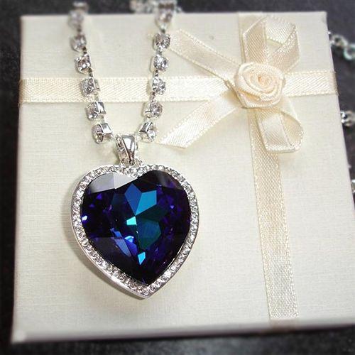 """""""Сердце Океана"""" - Невероятно красивое ожерелье из фильма """"Титаник""""."""