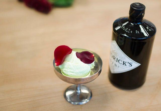 Gin & tonic-sorbet