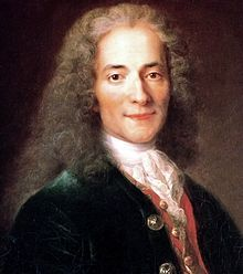 François-Marie Arouet, better known by the pen name 'Voltaire', was a French Enlightenment writer, historian and philosopher famous for his wit and for his advocacy of civil liberties, including freedom of religion, freedom of expression, free trade and separation of church and state.: Catherine The Great, Notebooks Quotes, Voltaire Quotes, Writers, Novels, History Of Usa, Catholic Church, Una Cartas, People