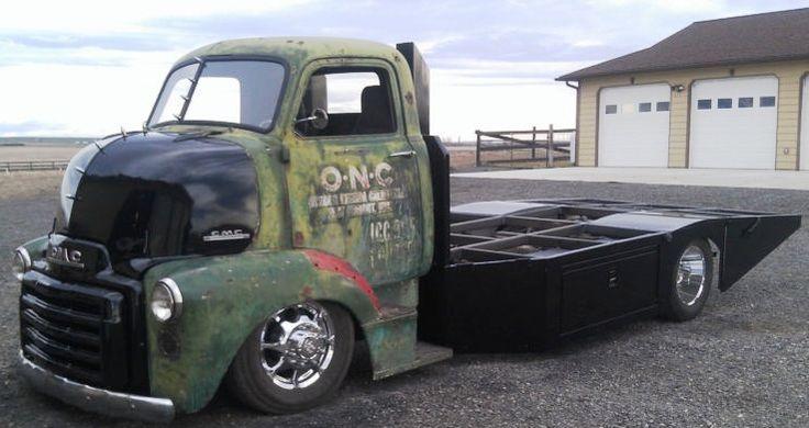 American Rat Rod Cars & Trucks For Sale: 1948 GMC COE Rat Rod Truck dually custom built hauler