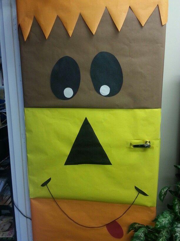 Halloween Classroom Design ~ Ideas about halloween classroom door on pinterest