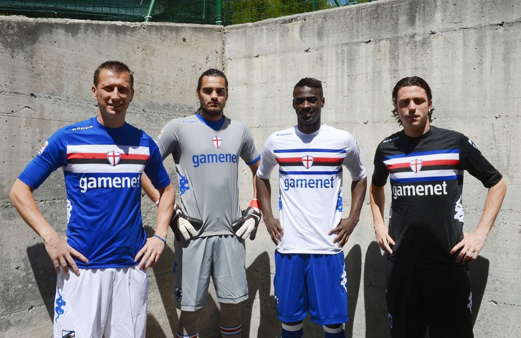 New Kit Kappa U.C. Sampdoria 2012/2013