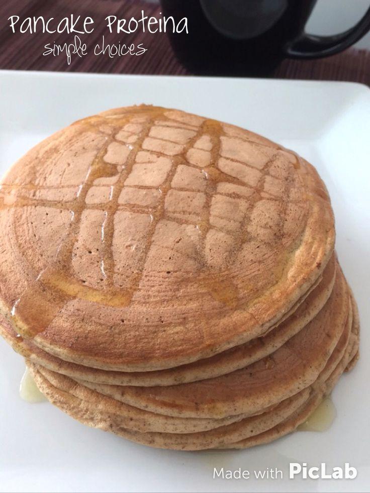 Puedes hacer Pancakes de proteina sin carbohidratos!  En vez de avena o cualquier otra harina usa 25 gramos de proteina en polvo. 4 claras de huevo, 1/4 agua o leche descremada o vegetal (almendras, coco..) canela, stevia o miel de abejas natural (una cucharadita), polvo para hornear (para que queden esponjadas)! Alto contenido de proteina!!!! Acompñalo con fruta si quieres (moderación) en el desayuno. Para merendar en la tarde sin fruta! #quemagrasa