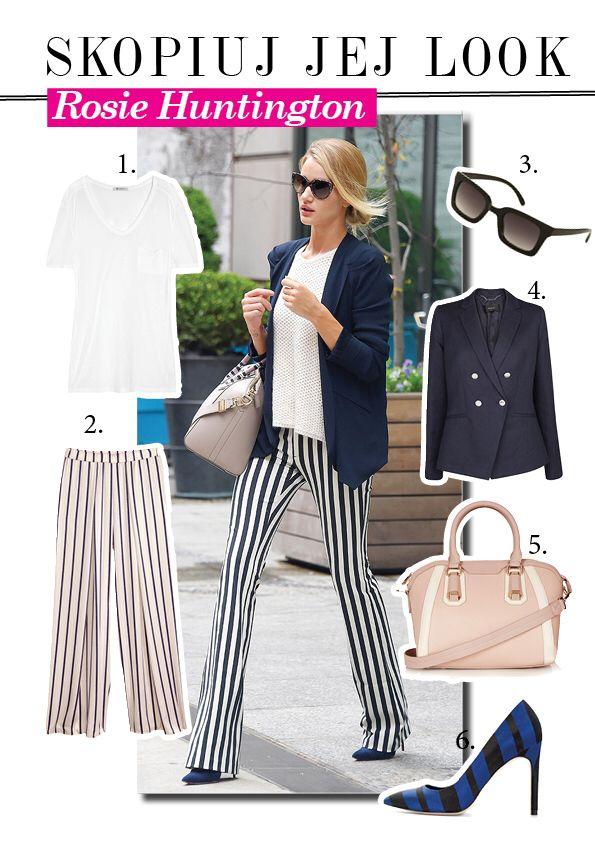 Styl Rosie Huntington-Whiteley #look #moda #gwiazdy #rosie #styl #gwiazd