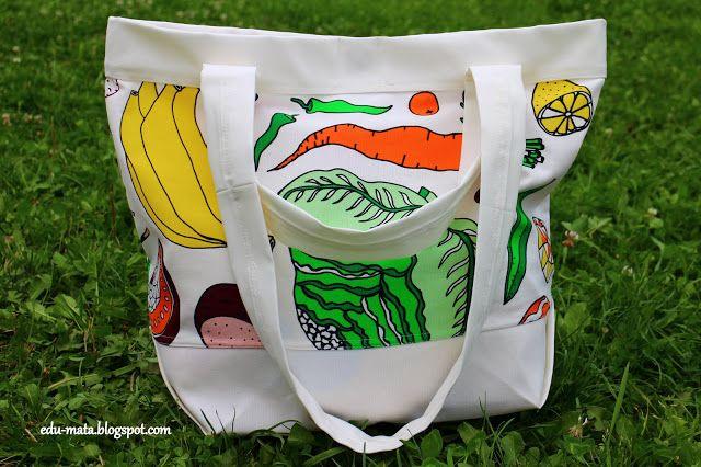how to sew a shopping bag, shopping bag, jak uszyć torbę na zakupy, szycie torby na zakupy, torba na zakupy.