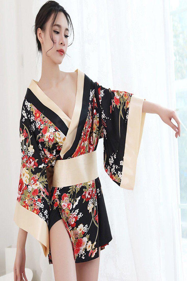 e7250a12134 11.93   Women Sexy Lingerie Costume Party Kimono Japanese Cosplay ...