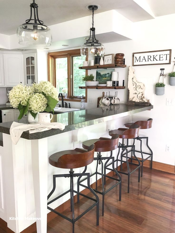 12 Amazing and Cheap Ideas for a Kitchen Make Over 3 Shelves and