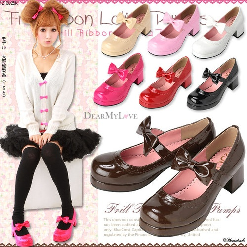 Uwah, these shoes, so cute~ ;7;