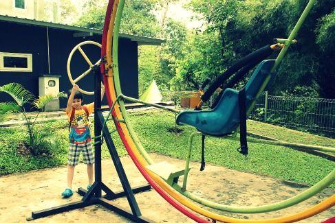 Simple Science - EcoArt Park, Sentul City, Bogor, West Java, Indonesia