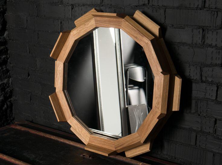 "Зеркало ""Kupus 6"". Mirror ""Kupus 6"". Fly Massive millworks. Solid oak.  Массив дуба. Мастерская Fly Massive. #fly_massive #flymassive #fly_massive_millworks #workshop #joinery #woodworker #tools #wood #joinery_workshop #millworks #furniture #modernism #constructivism #woodporn #design #russian #interior #designer #home #decor #woodworking #oak #mirror"