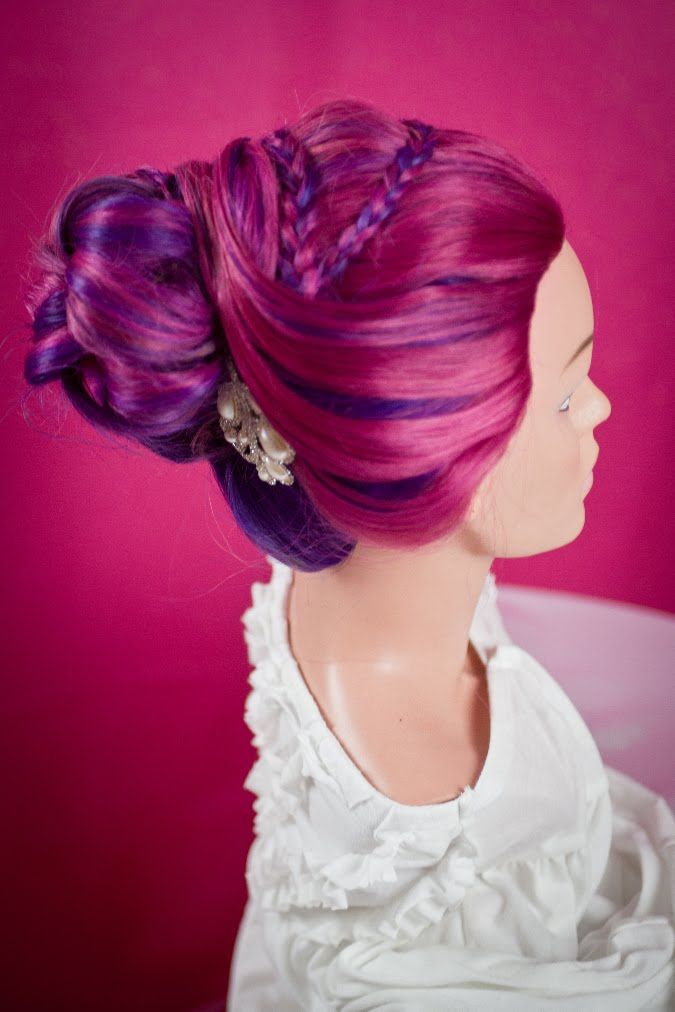 555 best images about Braids and Updos on Pinterest | Buns