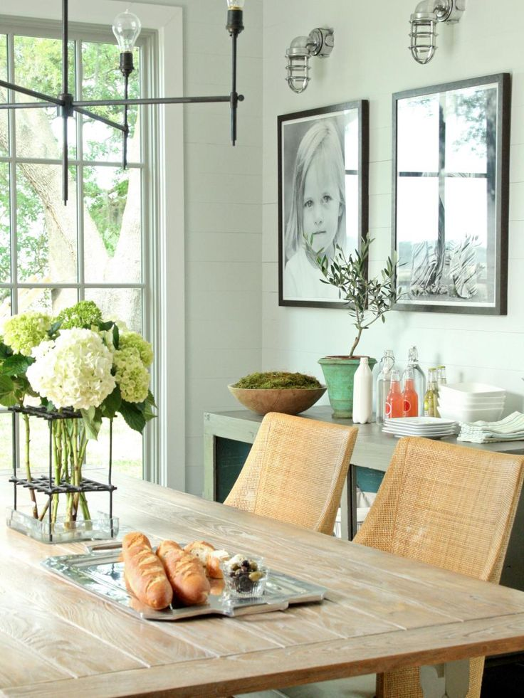 15 dining room decorating ideas - Distressed Dining Room Decorating