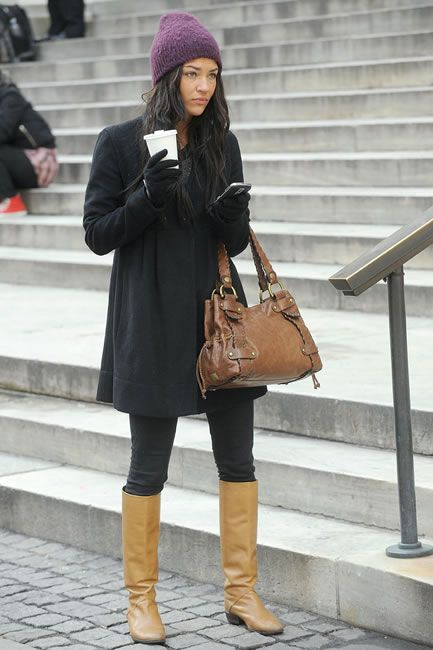 Lovely fall outfit fall Vanessa Abrams (Gossip Girl)