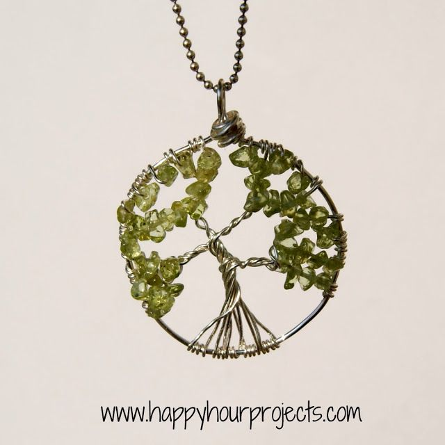 DIY Wire-Wrapped Tree Necklace reminds me of amity tree #divergent #insurgent