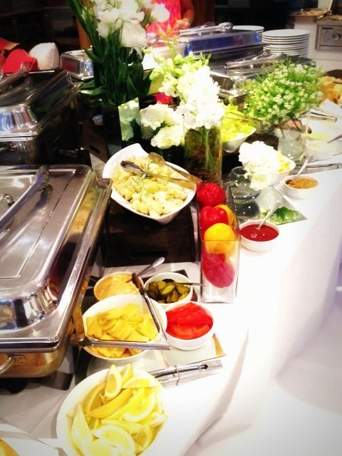 Crave Catering buffet!