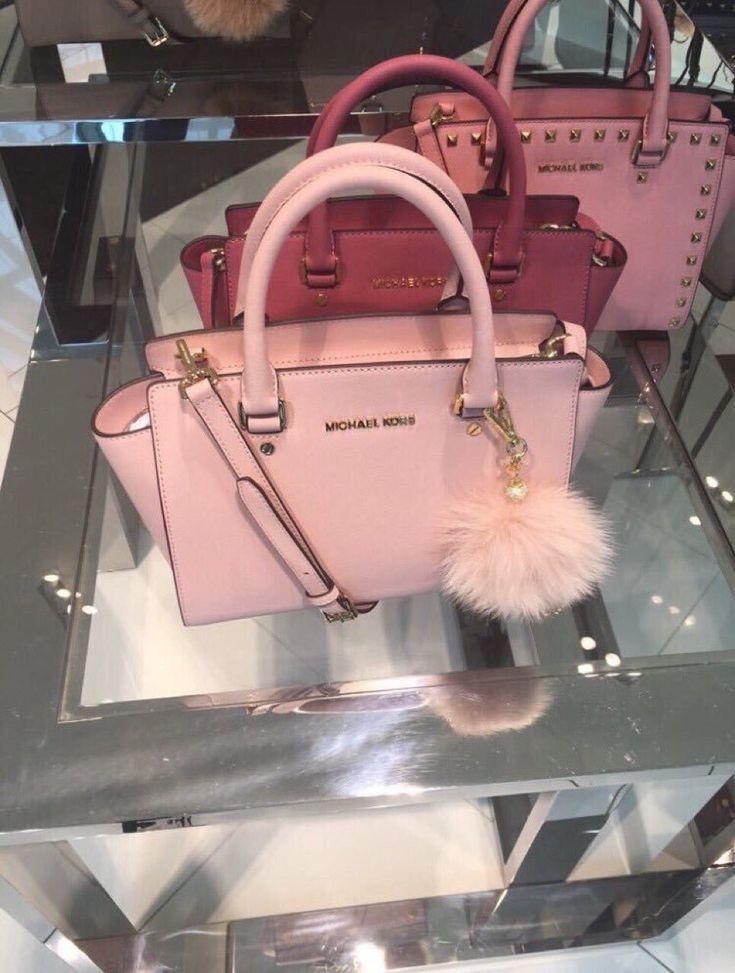 Pink Michael kors bags