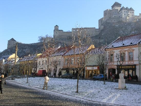Trencin, Slovakia. My ancestry.