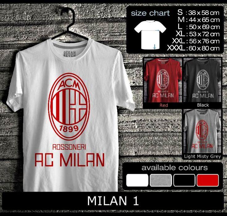 Kaos AC Milan FootBall Club   Kaos Milanisti 2