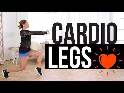 Gorgeous Legs // Cardio Beat (Fun apartment friendly workout)  