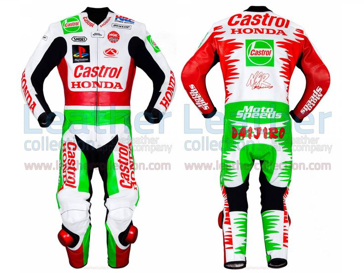 Daijiro Kato Castrol Honda GP 1999 Leather Suit