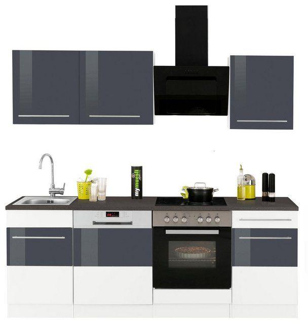 Küchenzeile Trient Mit E Geräten Breite 220 Cm