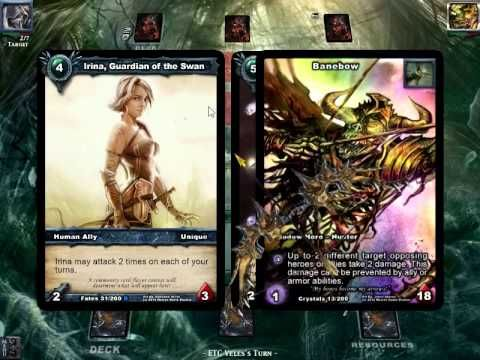 Watch a Shadow Era Aggro Lance deck win an 8 person popup on Fou DeLile Youtube channel