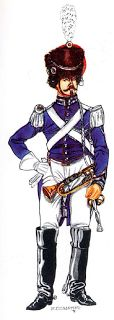 Corporal of the gendarmerie: army of the Papal States 1860 - 1870
