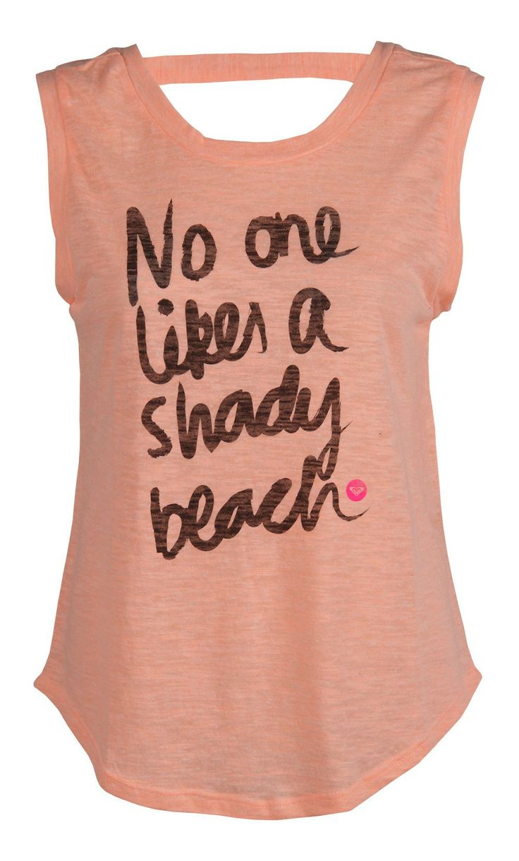 Roxy Shady Beach Tank