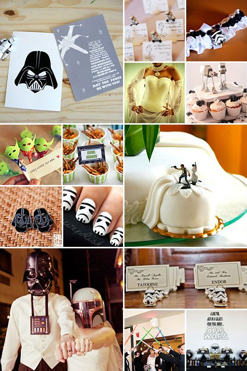Star Wars Wedding Theme { May the Force Be With You }