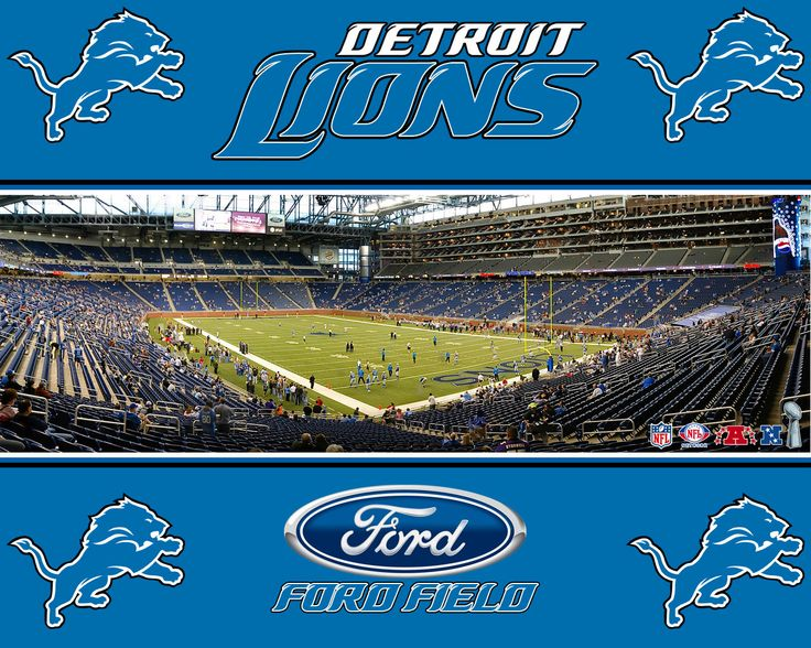 Ford Field, haha i've been there like 4 times