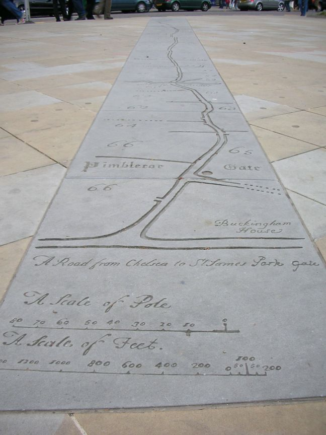 Duke of York Square Paving Map