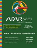 The ATAR Notes Biology Units 3&4 Study Guide is the ultimate exam practice guide. Topic tests, trial exams and solutions manual.