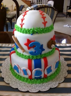 Baseball Birthday Cake Grayson would love this!!!