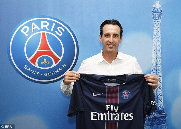 Unai Emery has been appointed as the new manager of Paris Saint-Germain on a two-year deal
