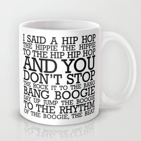 HIP HOP BOGGIE WHITE Mug