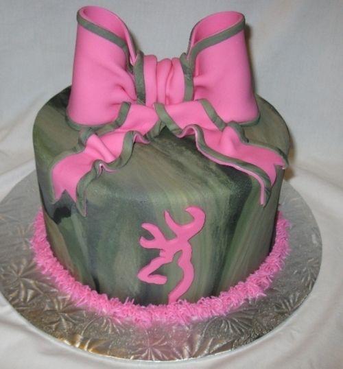 cake browning buck deer camo pink cakes pinterest camo cake and