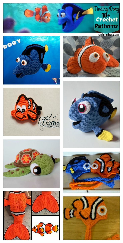 Finding Dory Crochet Patterns