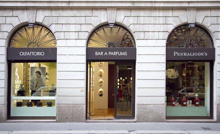 Olfattorio Bar à Parfums via Brera n. 5 a Milano
