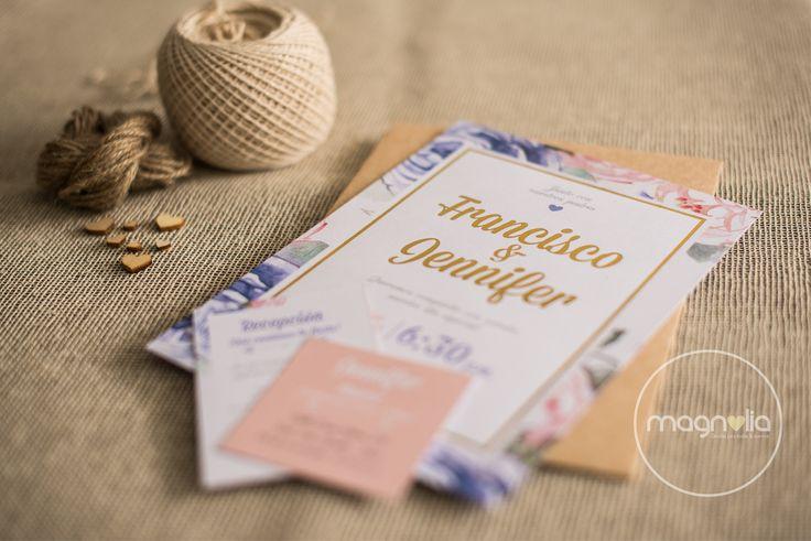 Invitaciones de Boda Vintage #bodasoriginales #bodasvintage