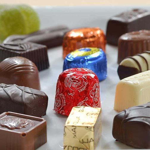 Leonidas Belgian Chocolate Assortment - Mixed in Ballotin Gift Box - Click to enlarge