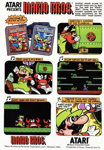 great old video games advert, do you remember trying this game?