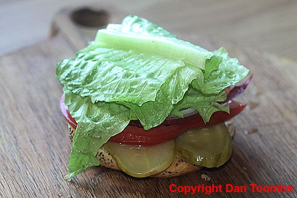 How To Make A Homemade Squeeze Burger - Top with the freshest lettuce!