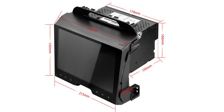 "9"" HD Pekskärm bilstereo, DVD, GPS, OBD2 - Kia Sportage"