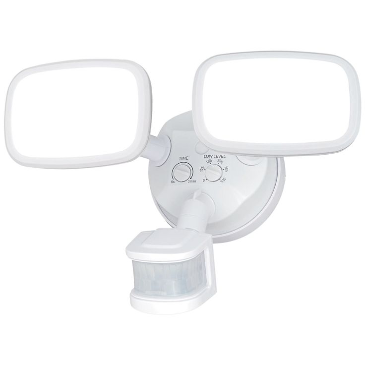 "Sigma 10 1/4""W LED White Motion Sensor Security Light - Style # 7J768"