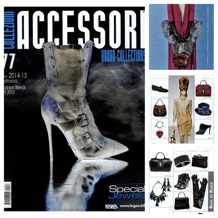 #Ledemotiondesign on Collezioni #Accessori magazine! http://bit.ly/collezioniAcessoriLED #handbags #press #bags #LED
